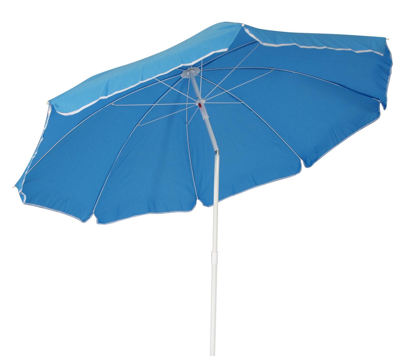 strandschirm sonnenschirm knickschirm garten schirm 180cm hell blau knickbar. Black Bedroom Furniture Sets. Home Design Ideas