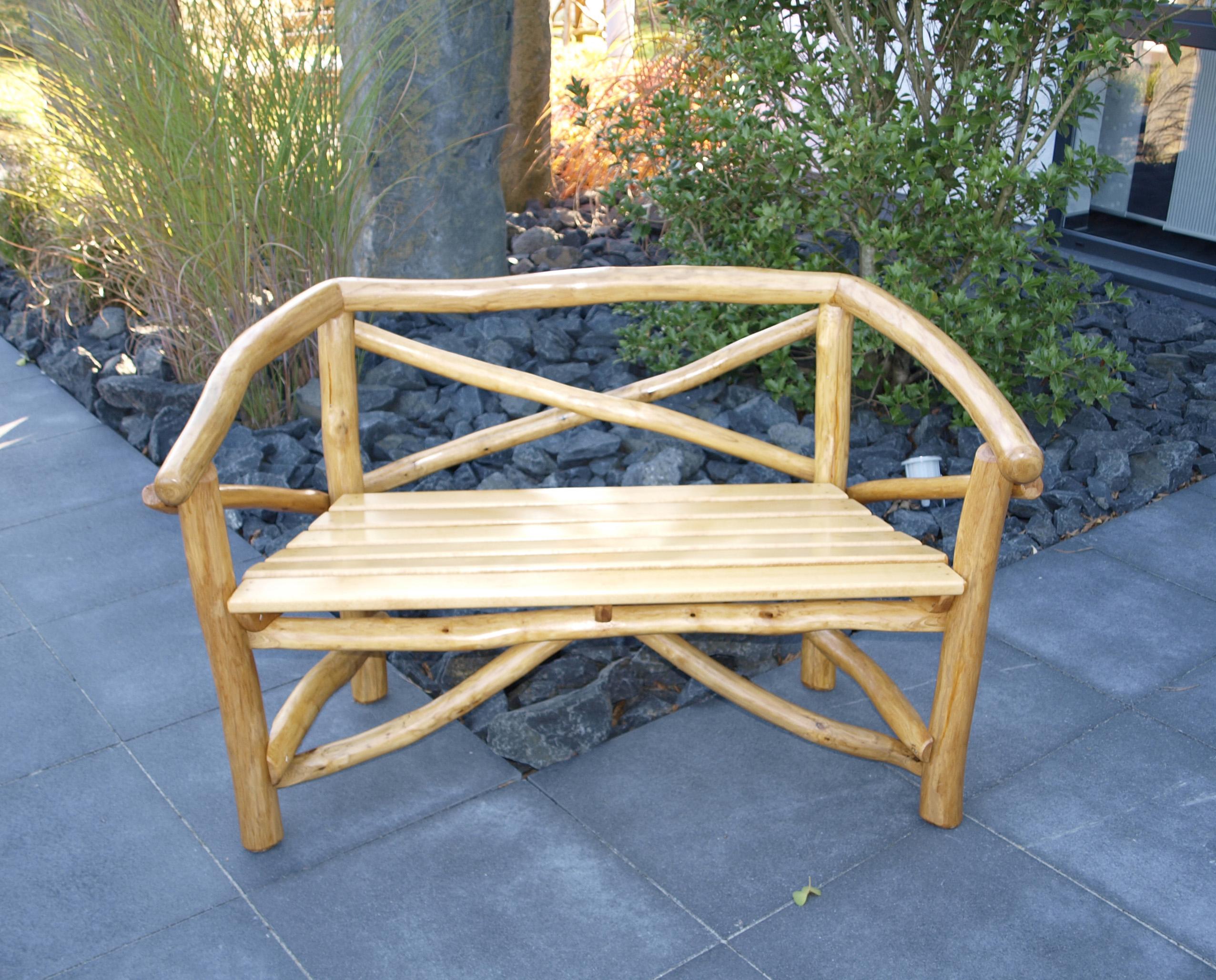Neu Gartenbank 2 Sitzer Holz Ideen