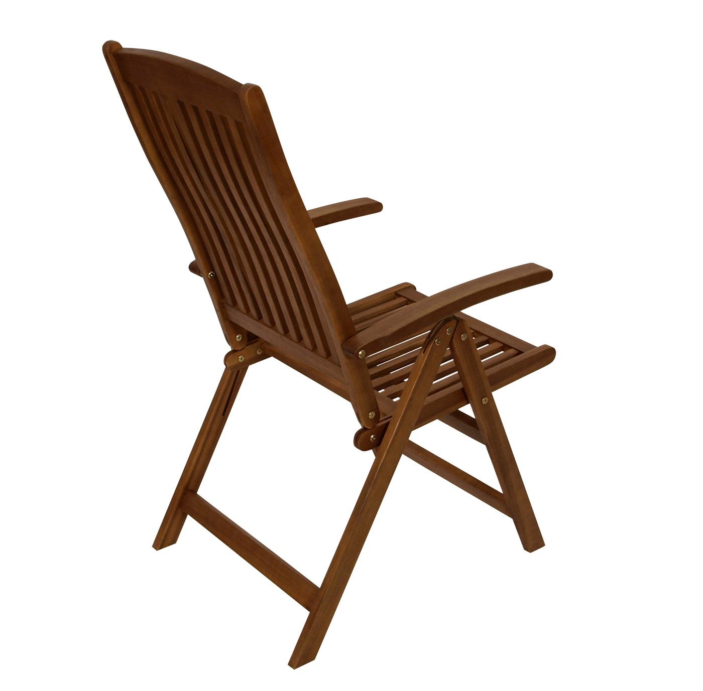 gartensessel klappsessel hochlehner gartenm bel sessel klappstuhl maracana holz ebay. Black Bedroom Furniture Sets. Home Design Ideas