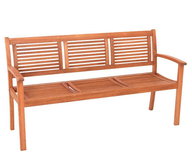 edle gartenbank cordoba aus eukalyputs 3 sitzer fsc zertifiziert ebay. Black Bedroom Furniture Sets. Home Design Ideas