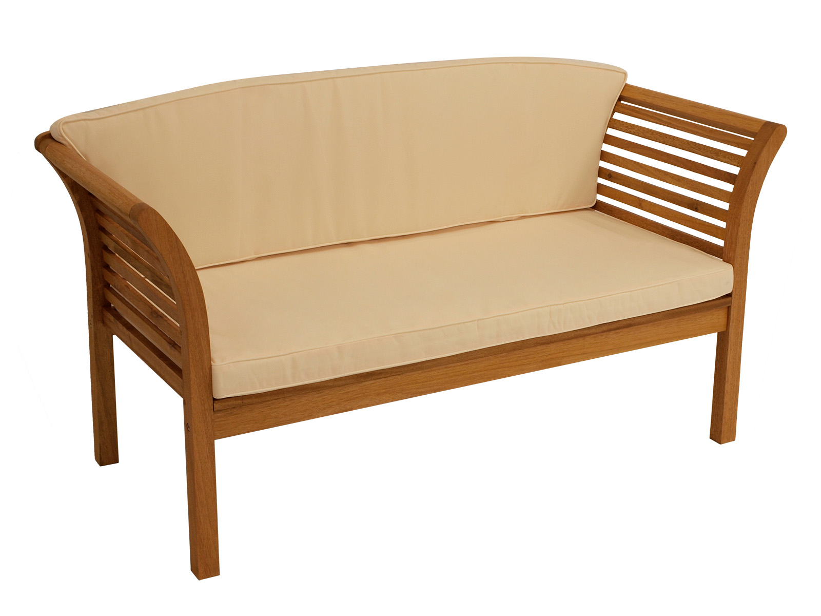 lounge garnitur loungeset malaga 4 teilig eukalyptus. Black Bedroom Furniture Sets. Home Design Ideas