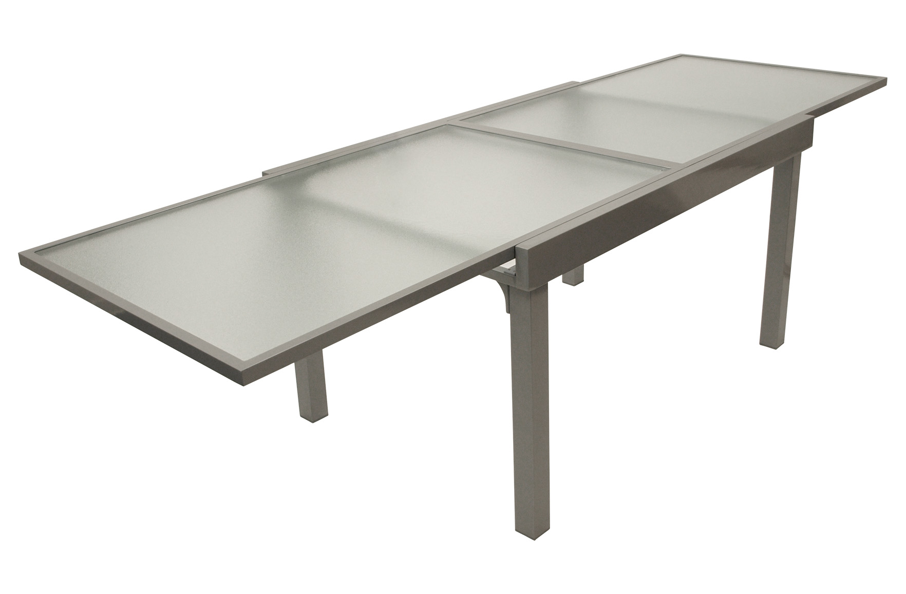 Affordable Gartentisch Ausziehbar Xcm Aluminium Glas Silber With Gartentisch  120 X 70 Alu Awesome Design