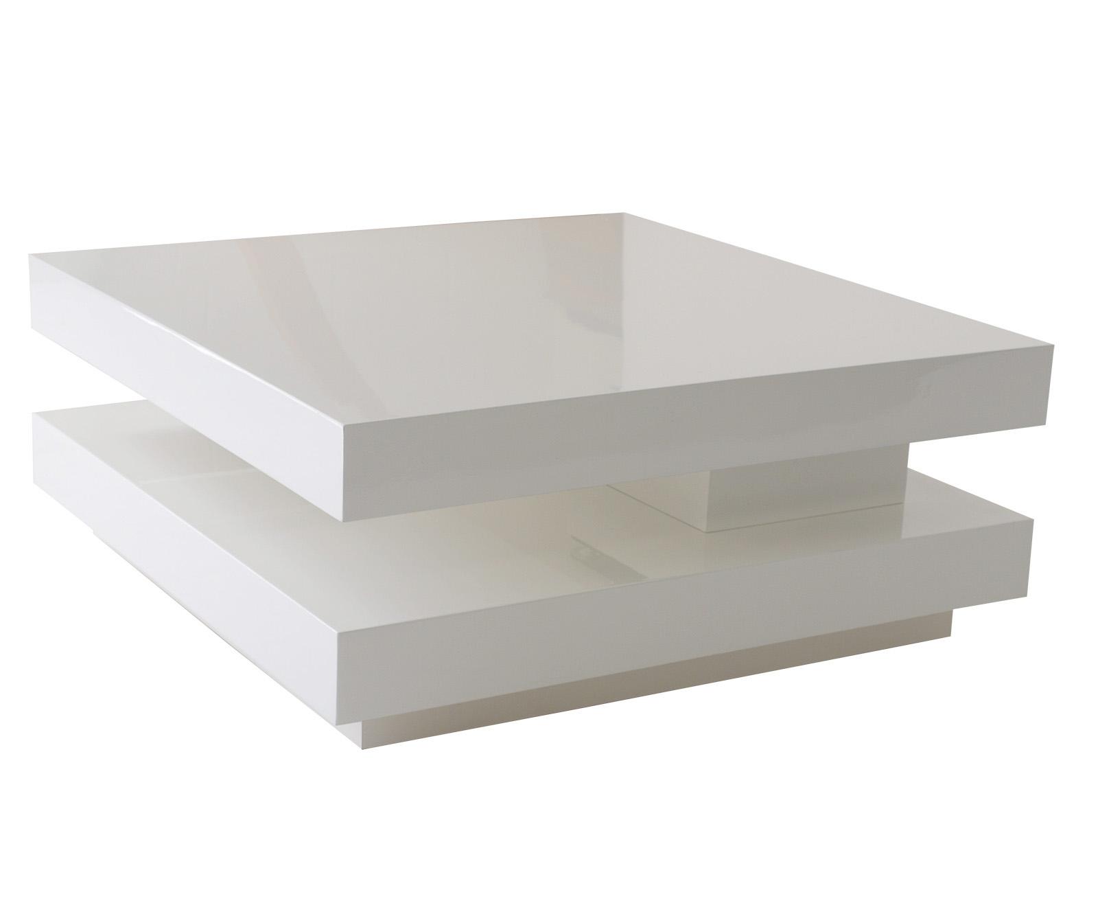 hochwertiger couchtisch sofatisch modular 75x75cm wei hochglanz 2 wahl ebay. Black Bedroom Furniture Sets. Home Design Ideas