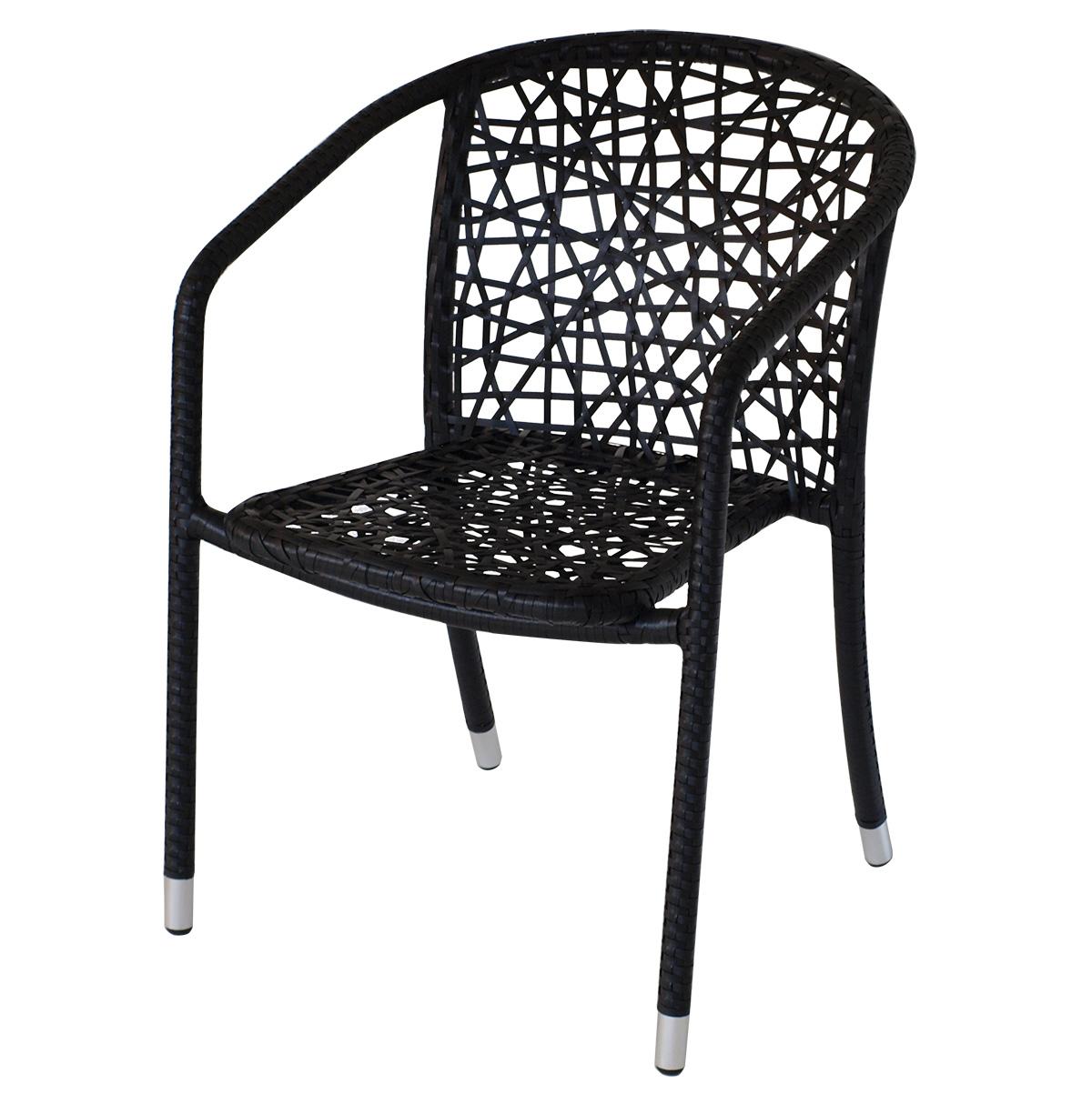 designer stapelsessel bistrosessel pumori alu geflecht. Black Bedroom Furniture Sets. Home Design Ideas