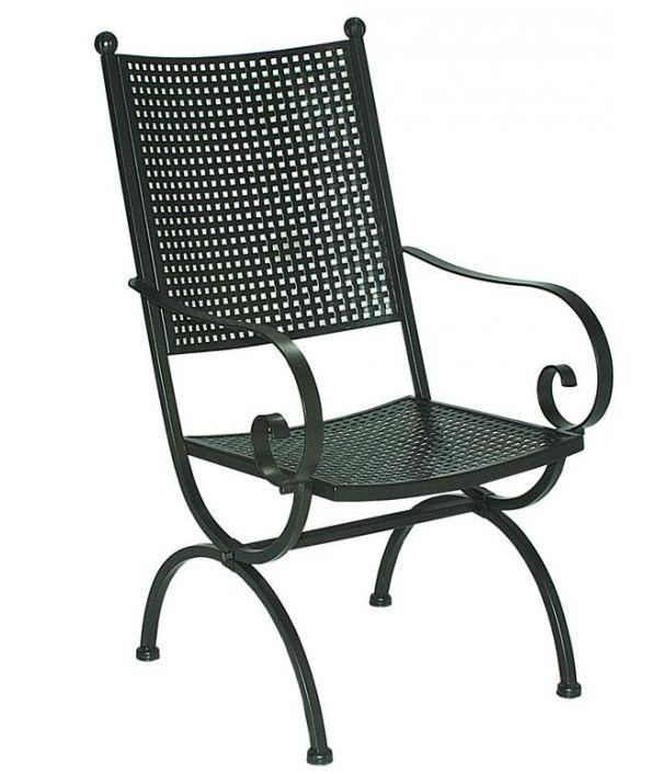 mbm m nchener boulevard m bel sessel romeo elegance schmiedeeisen verzinkt ebay. Black Bedroom Furniture Sets. Home Design Ideas