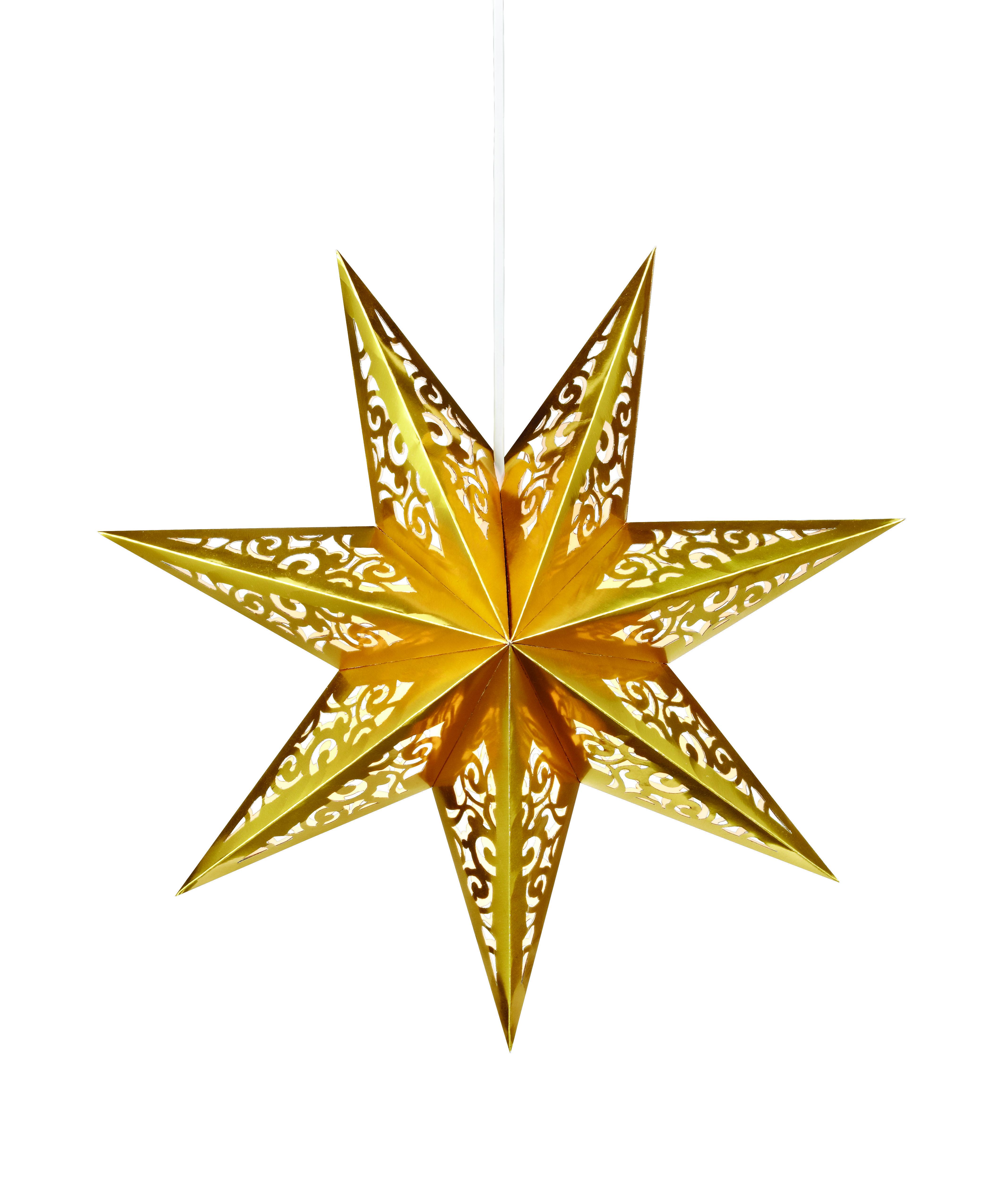 beleuchteter papierstern weihnachtsstern leuchtstern stern. Black Bedroom Furniture Sets. Home Design Ideas