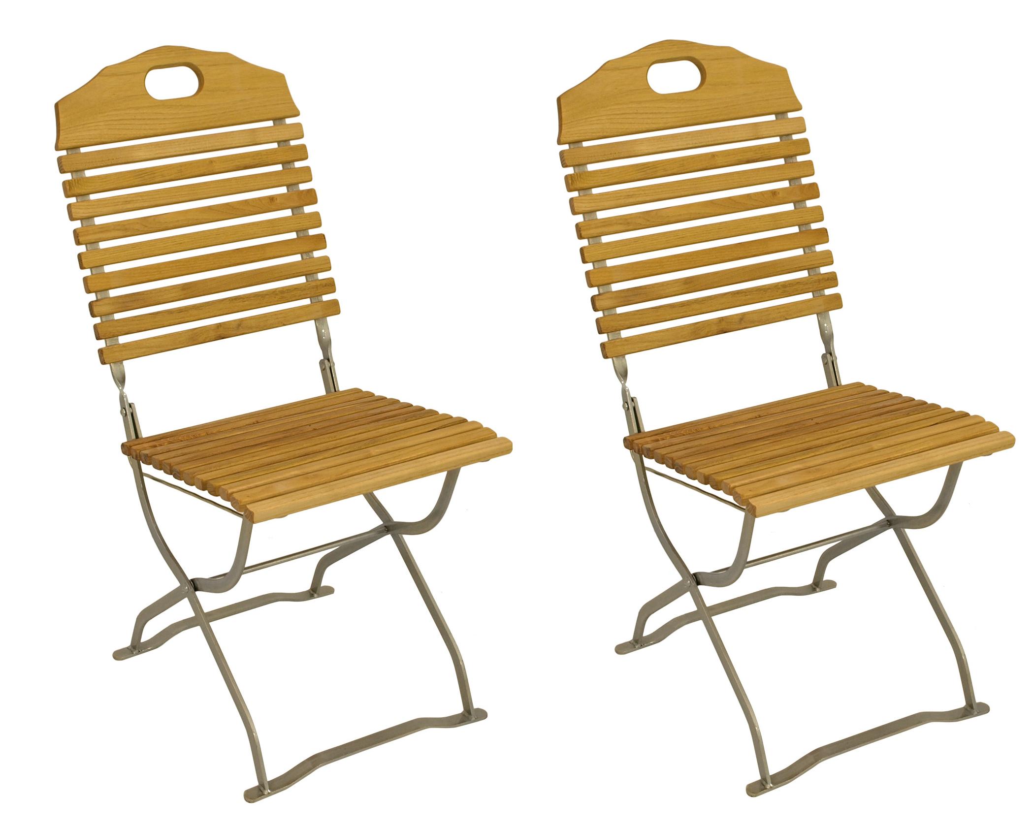 klappstuhl biergartenstuhl kurgarten bad t lz stahl verzinkt robinie 2 wahl ebay. Black Bedroom Furniture Sets. Home Design Ideas
