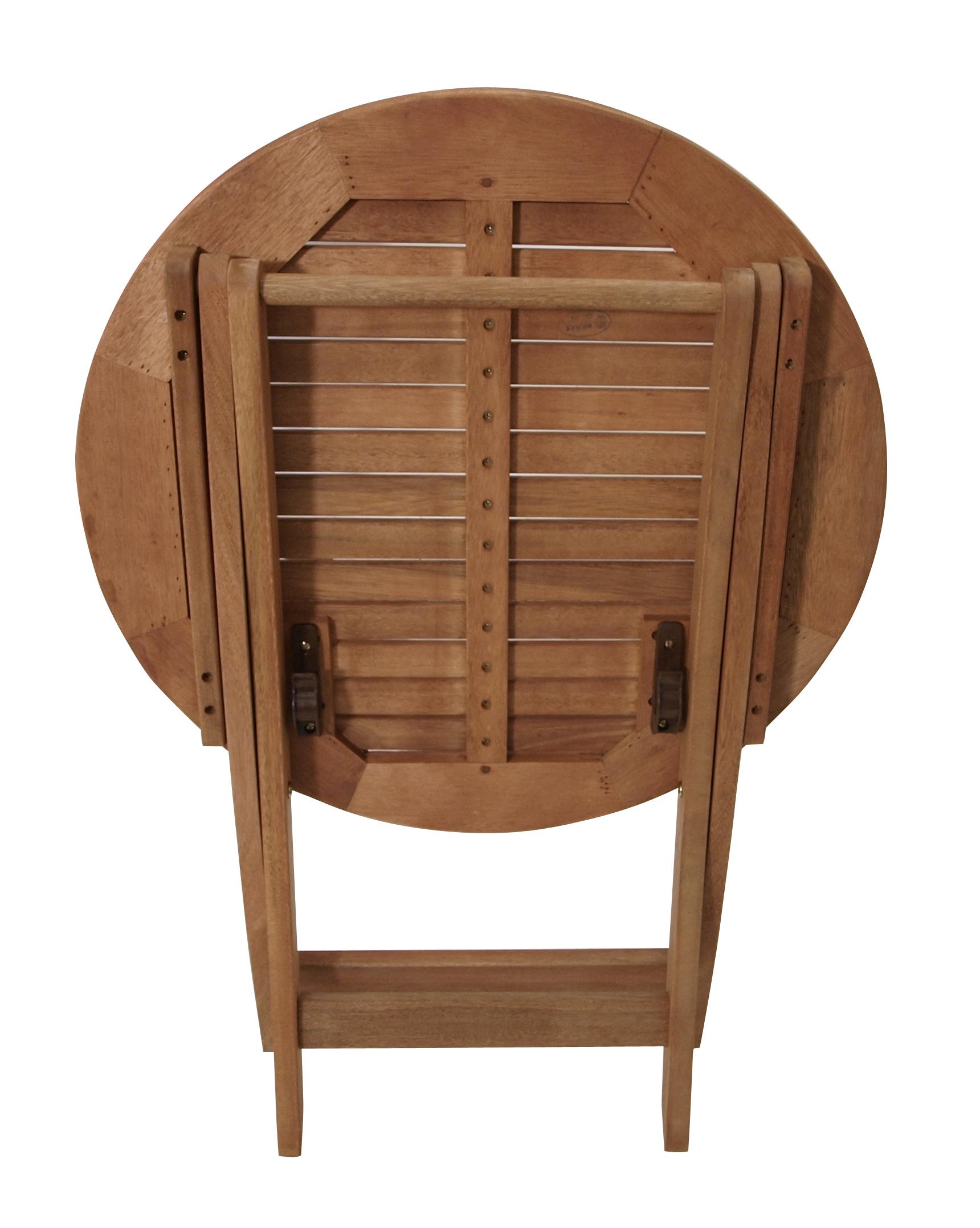 Gartentisch rund holz selber bauen for Bistrotisch holz