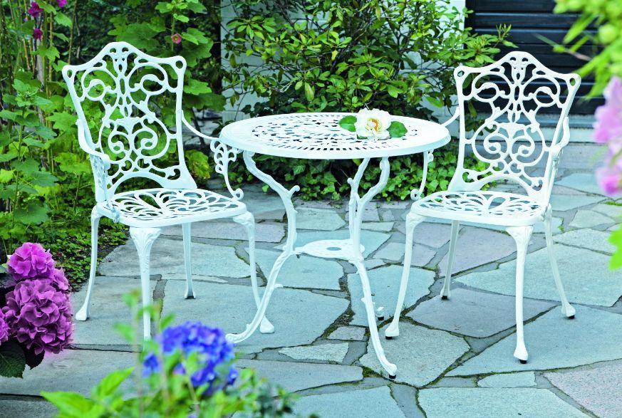 Sitzgruppe Gartenset Gartenmöbel Gartengarnitur LUGANO 3-teilig ...