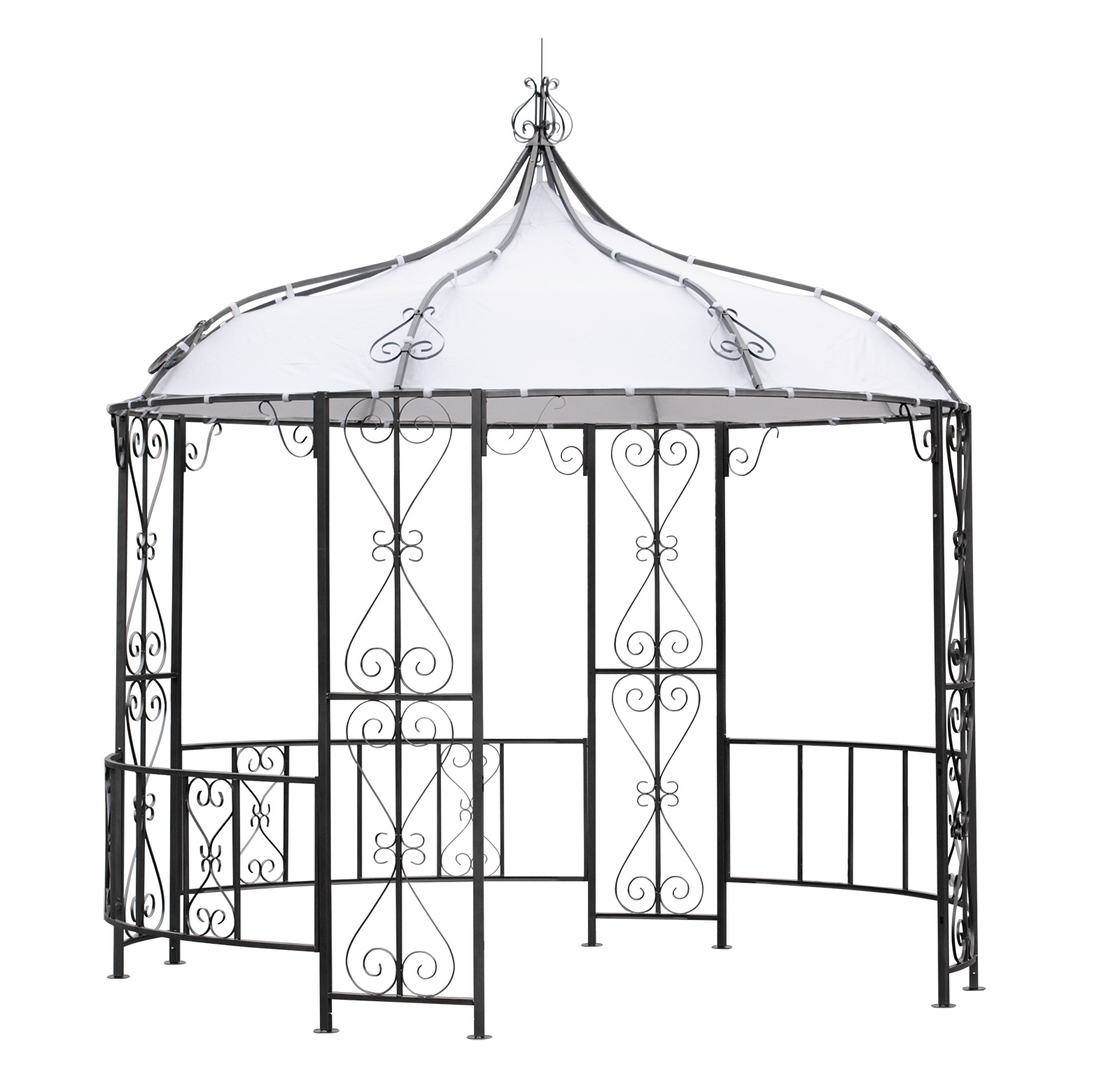 Ersatzdach dachplane pavilondach f r pavillon burma 300cm wasserdicht haiger - Abdeckhauben fur gartenmobel ...