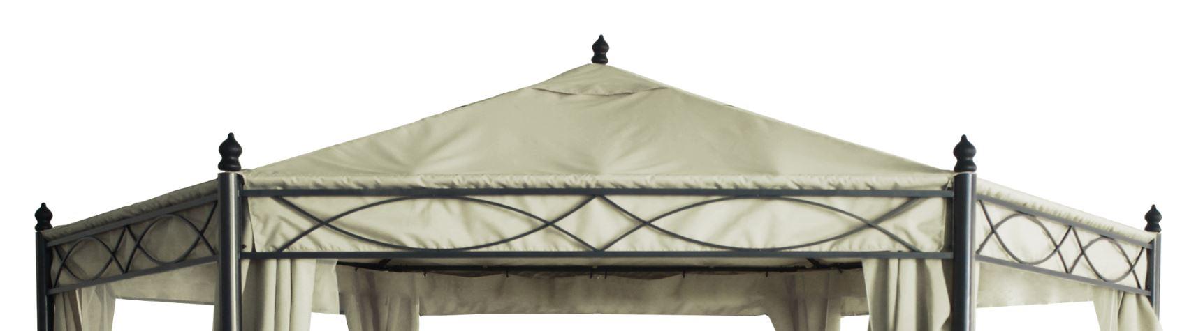 ersatzdach pavillondach dachplane pavillonplane 6 eckig f r pavillon wasserdicht ebay. Black Bedroom Furniture Sets. Home Design Ideas