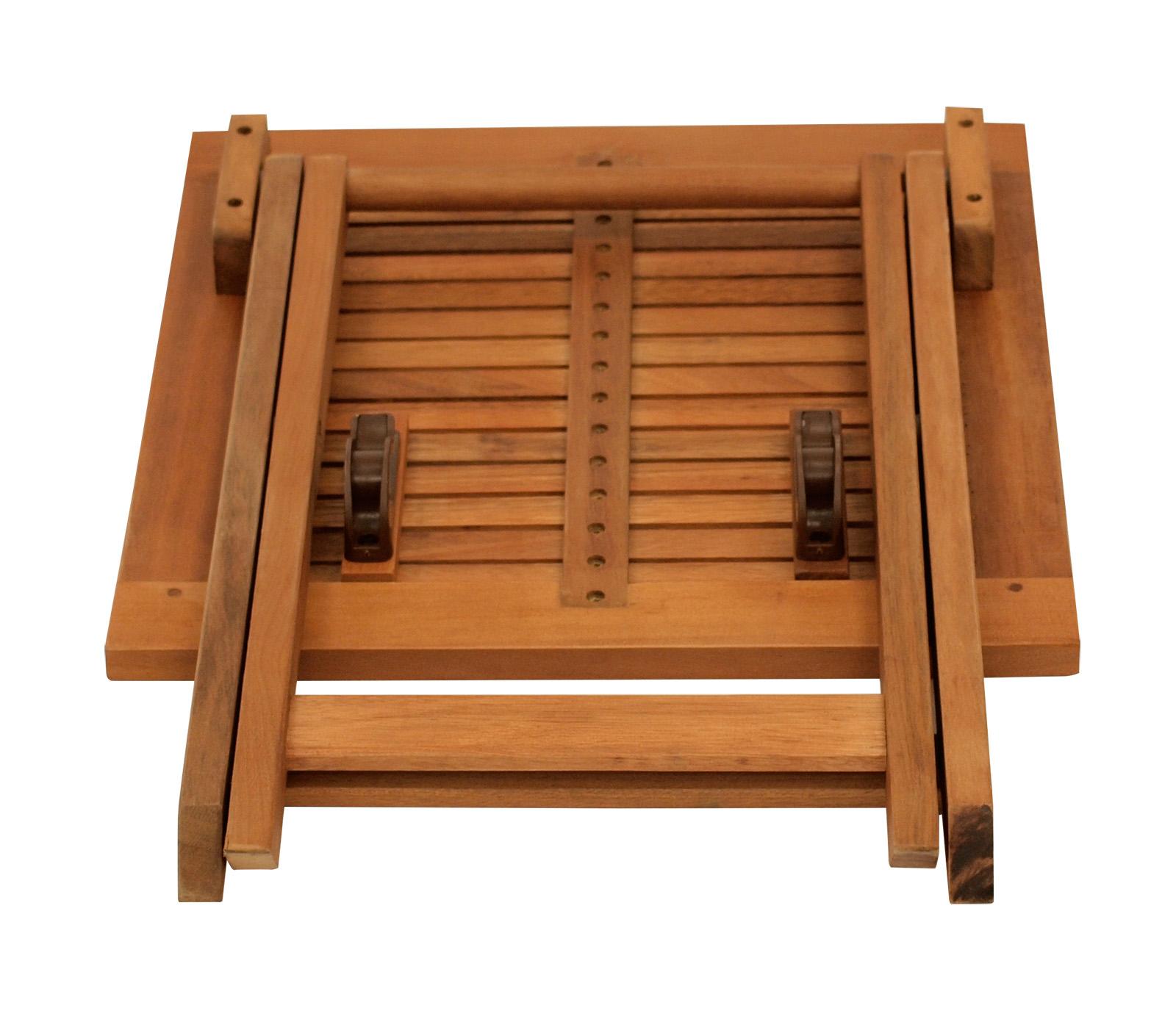 beistelltisch klapptisch holztisch kaffeetisch java 45x45x45cm eukalyptus ge lt ebay. Black Bedroom Furniture Sets. Home Design Ideas