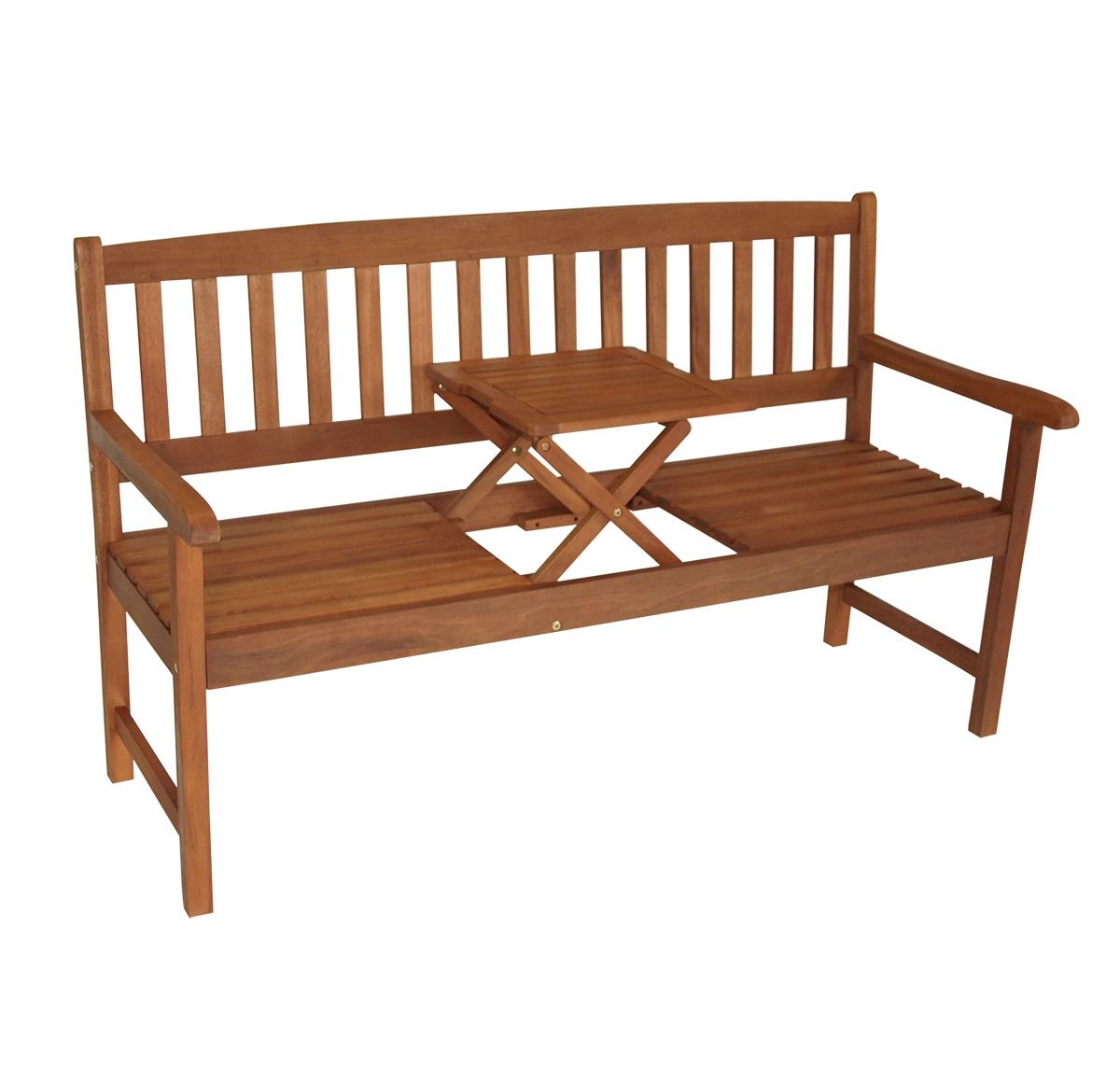 gartenbank parkbank gartenm bel bank mit klapptisch saigon 3 sitzer 2 wahl ebay. Black Bedroom Furniture Sets. Home Design Ideas