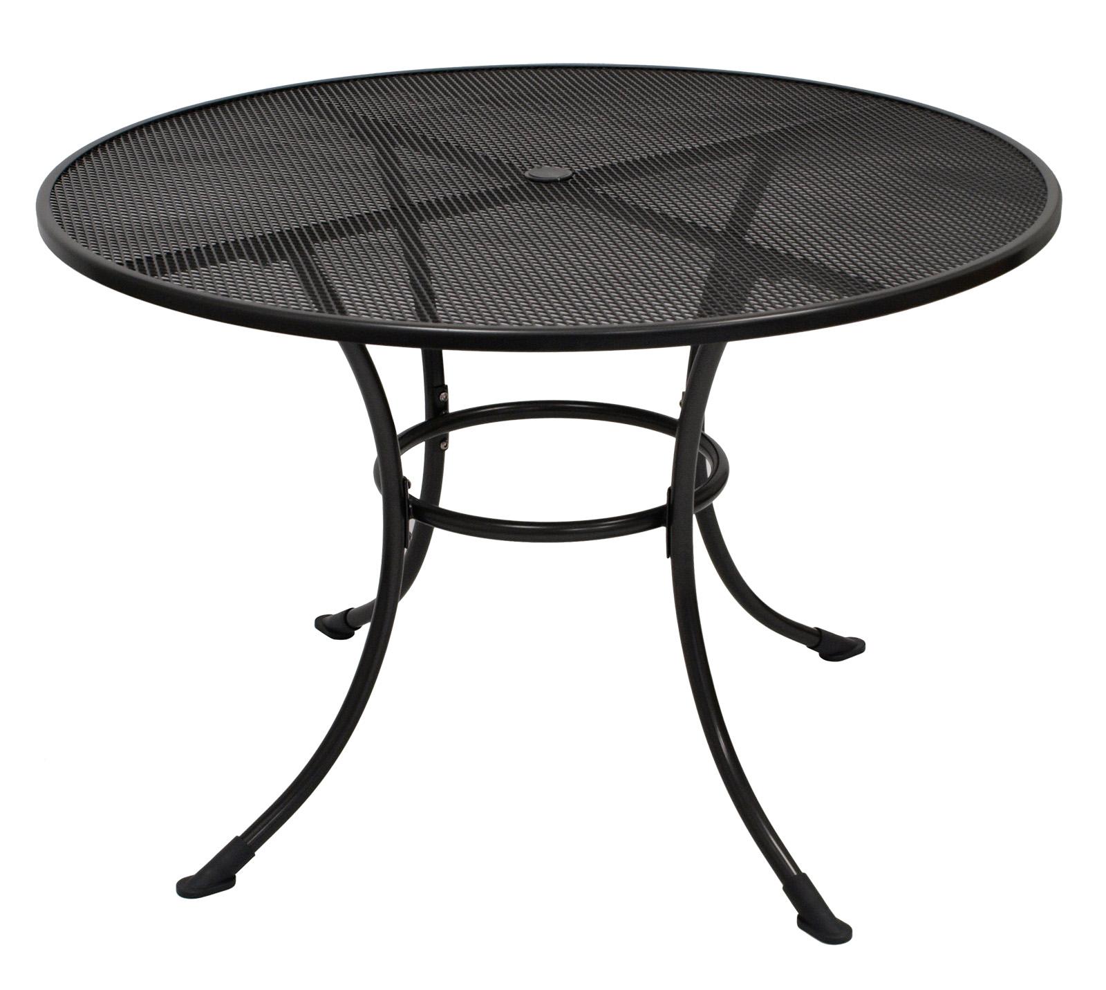 Gartentisch Metalltisch Gartenmöbel Tisch Metall Eisentisch RIVO ...