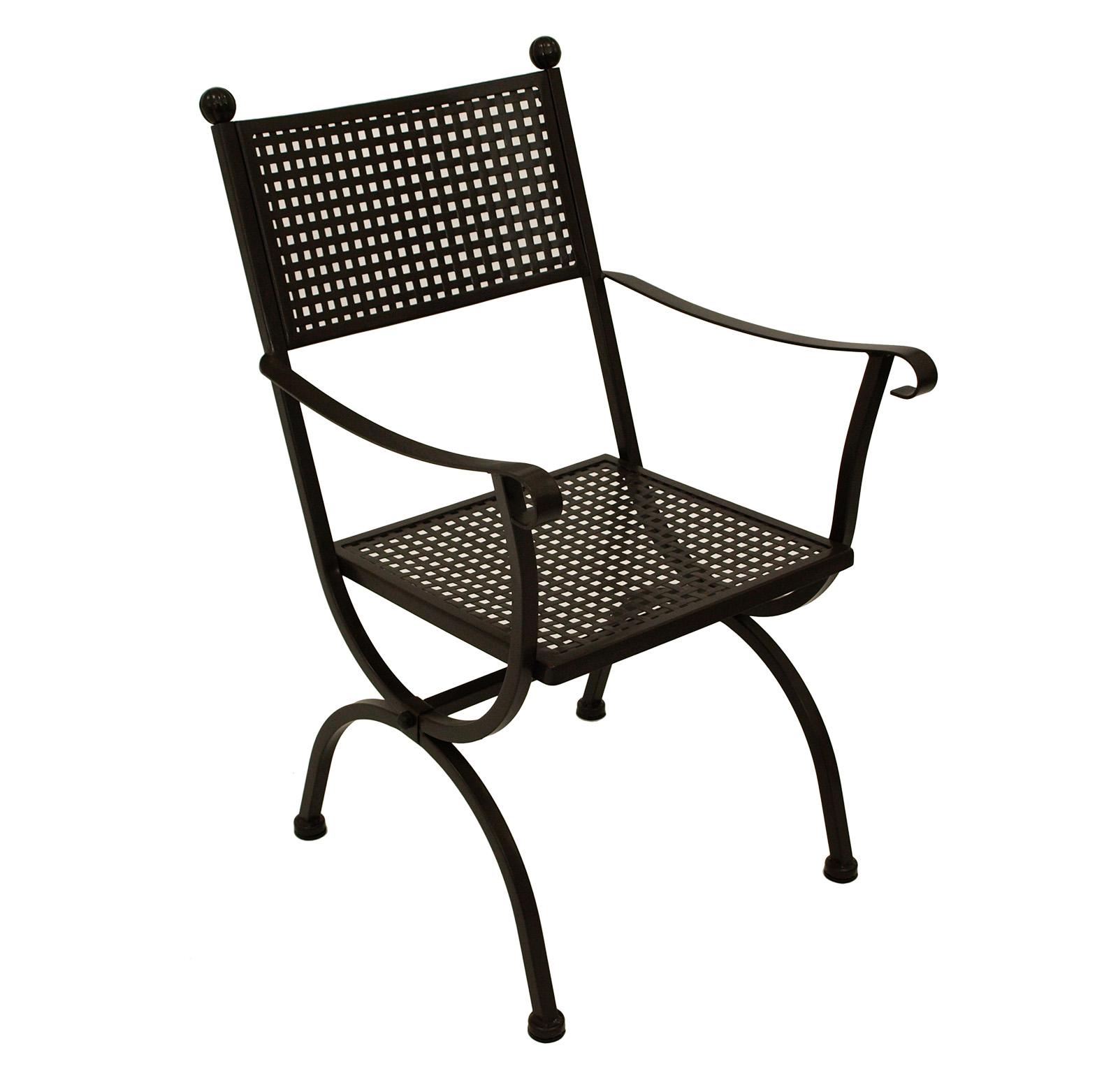 Gartenstuhl Gartensessel Gartenmöbel Sessel ROMEO von MBM Eisen ...