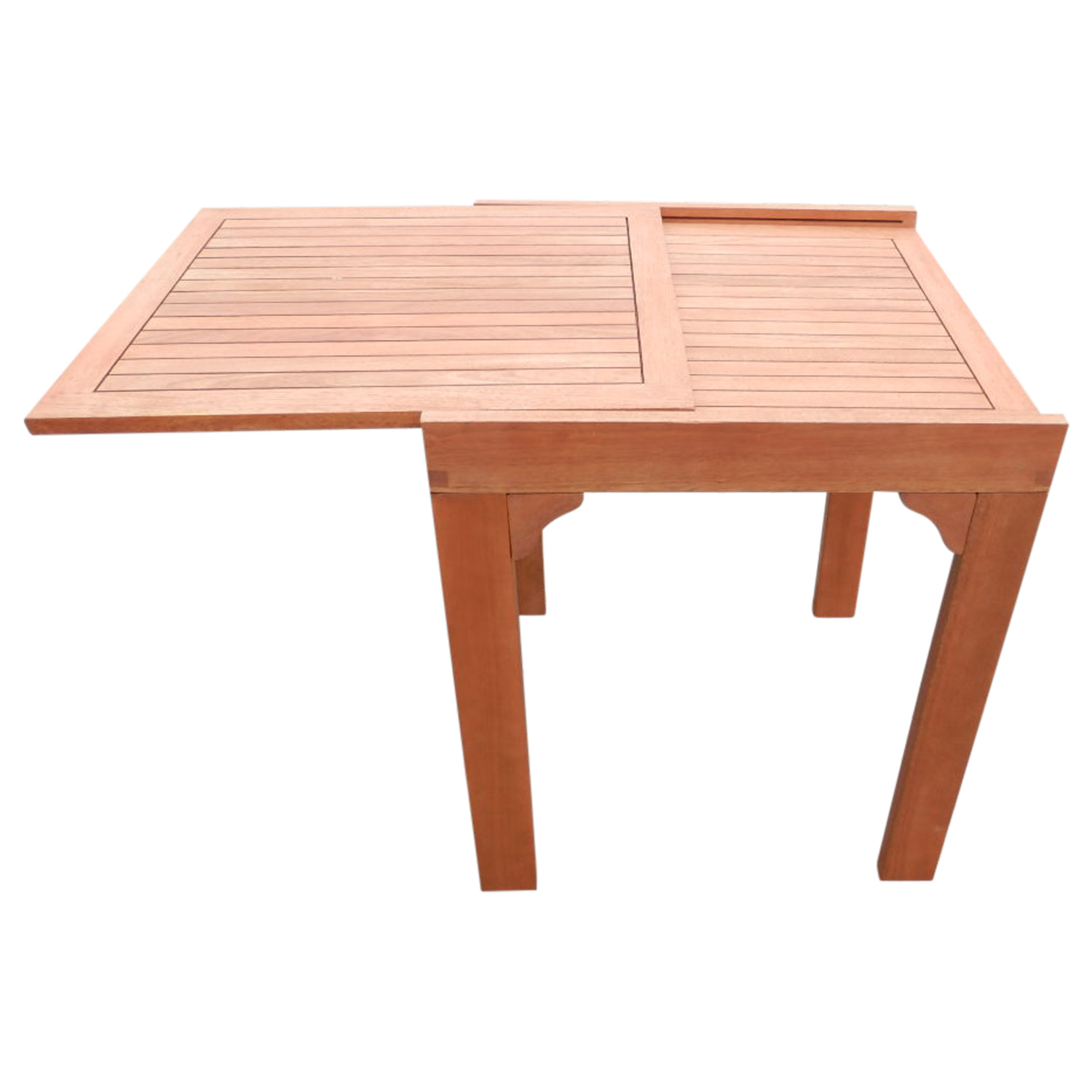 gartentisch ausziehtisch balkontisch gartenm bel tisch rio 65 130x70cm holz ebay. Black Bedroom Furniture Sets. Home Design Ideas