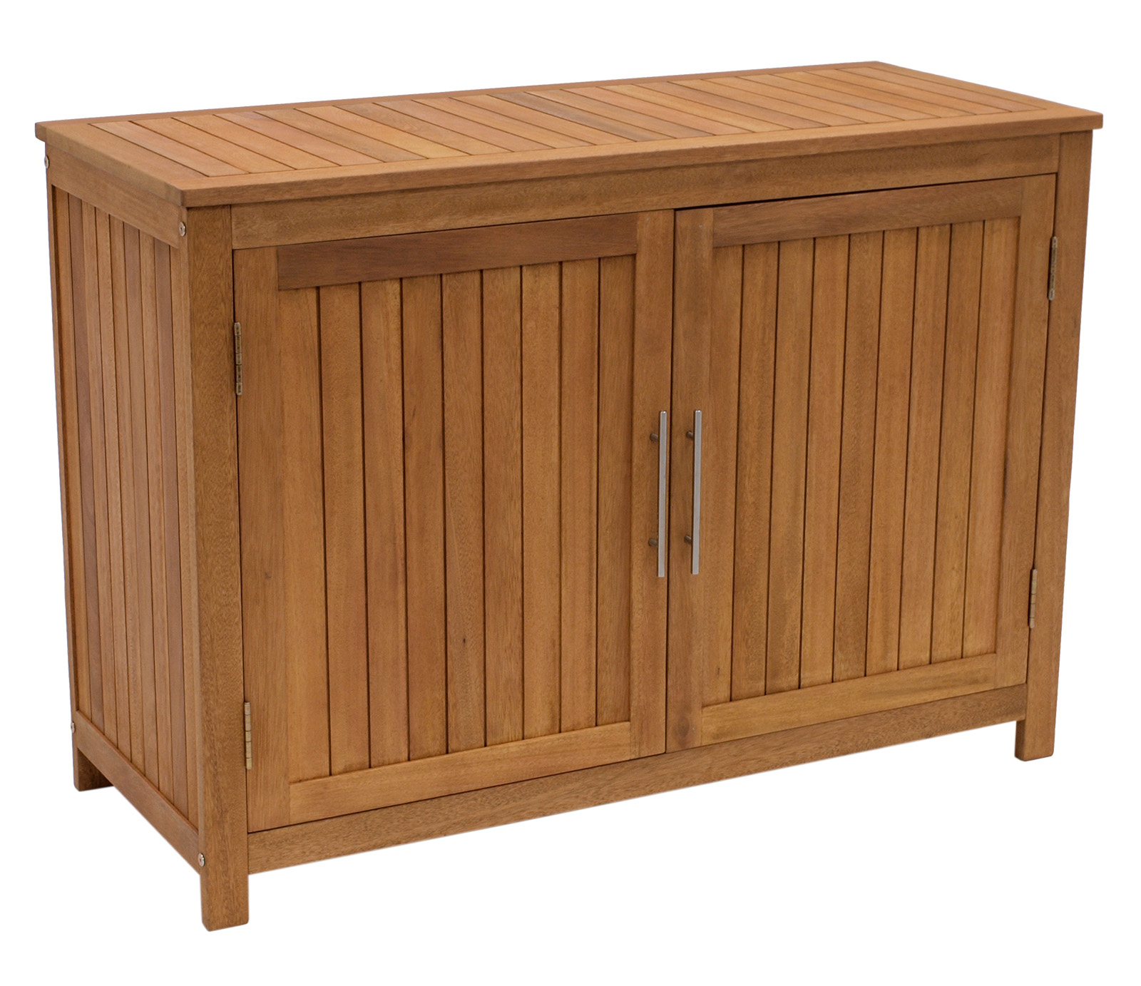 gartenschrank holz ger teschrank pflanztisch gartenm bel truhe 120x55x85cm fsc ebay. Black Bedroom Furniture Sets. Home Design Ideas