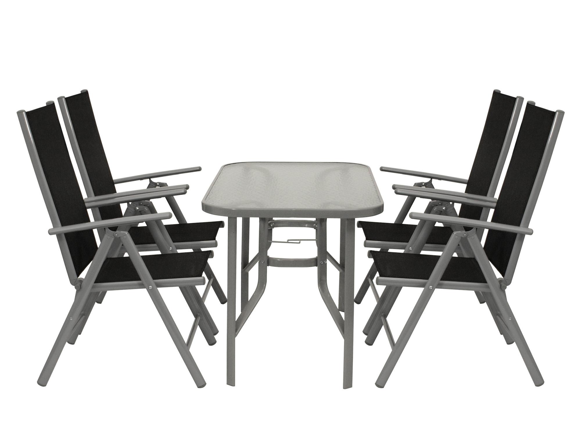 gartengarnitur sitzgruppe gartenm bel set garnitur gartenset ravenna 5 teilig ebay. Black Bedroom Furniture Sets. Home Design Ideas