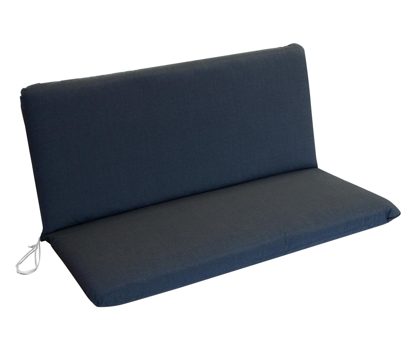 gartenbank auflage bankauflage polster gartenm bel bank arizona 2 sitzer grau ebay. Black Bedroom Furniture Sets. Home Design Ideas