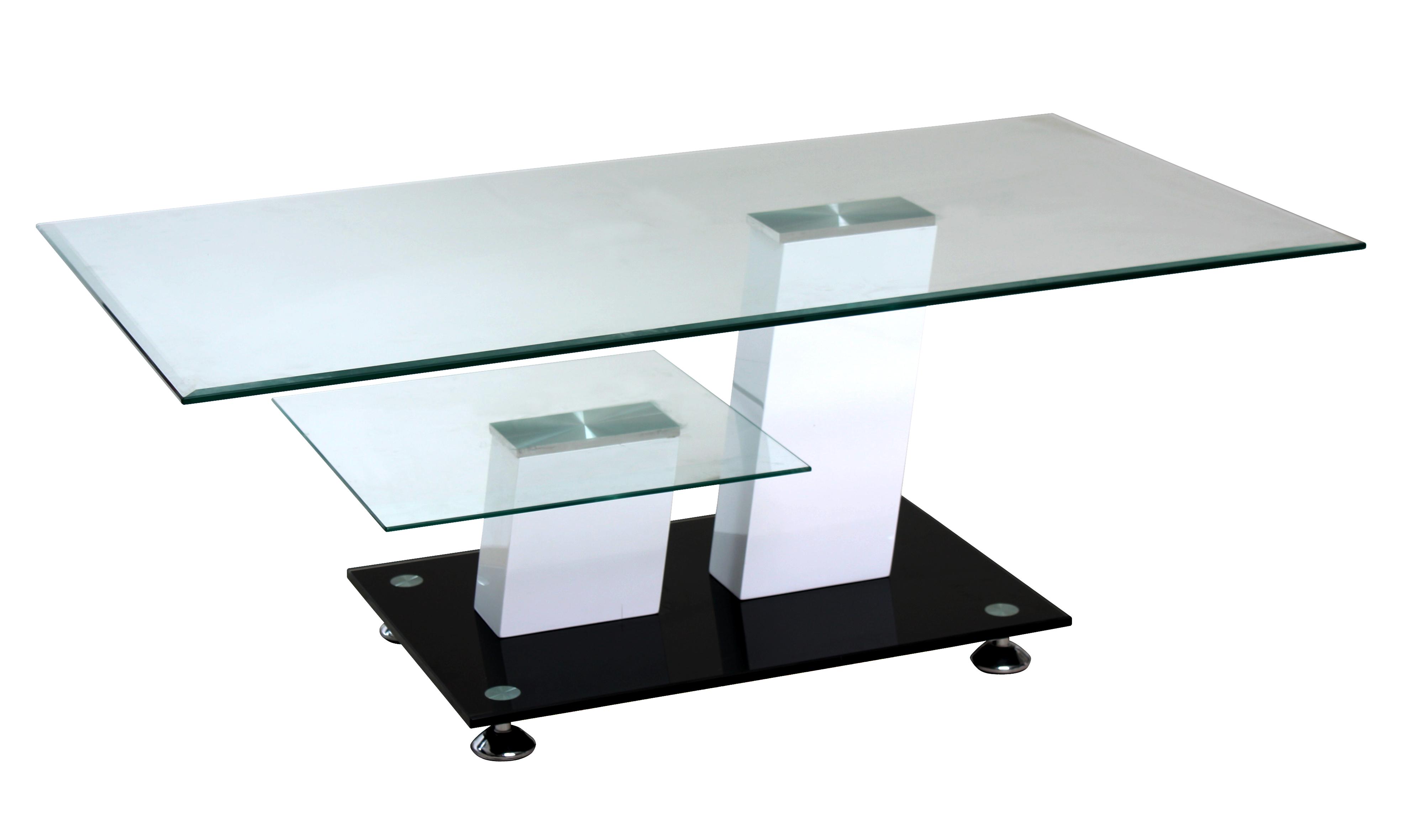 couchtisch sofatisch wohnzimmertisch glastisch tisch montreal 110x60cm glas 4050747326976 ebay. Black Bedroom Furniture Sets. Home Design Ideas