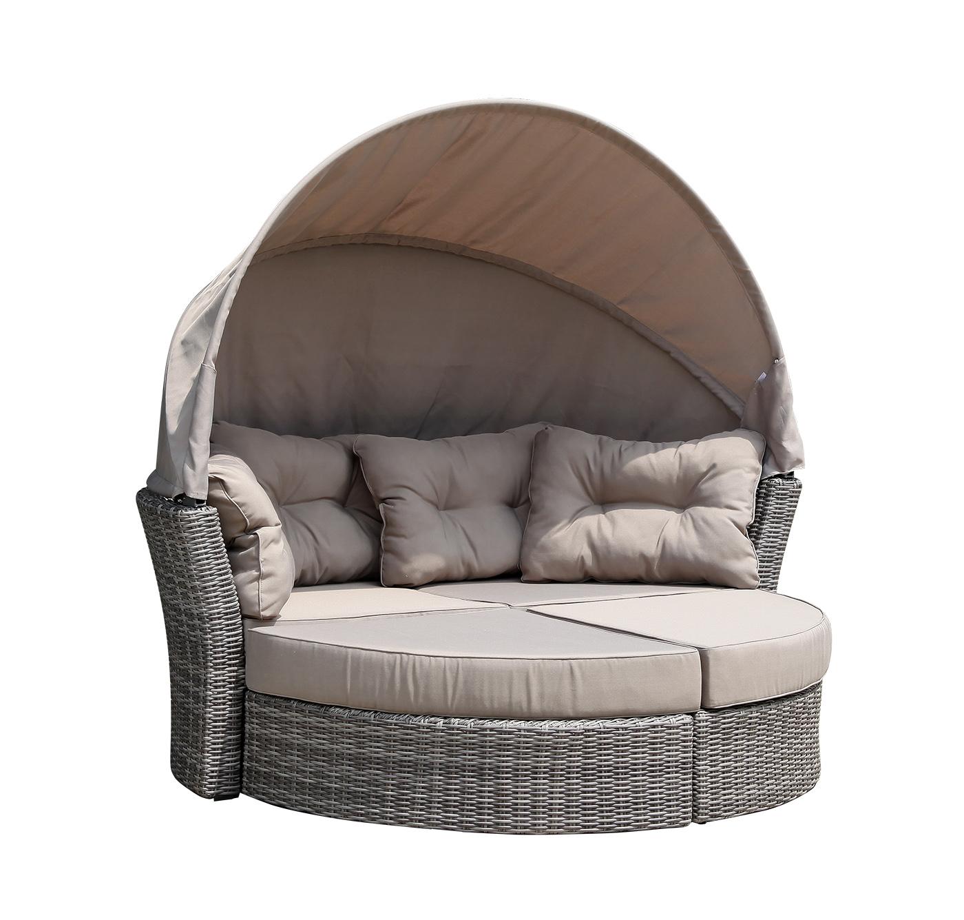 liegeinsel sonneninsel liegemuschel liegesofa marbella. Black Bedroom Furniture Sets. Home Design Ideas