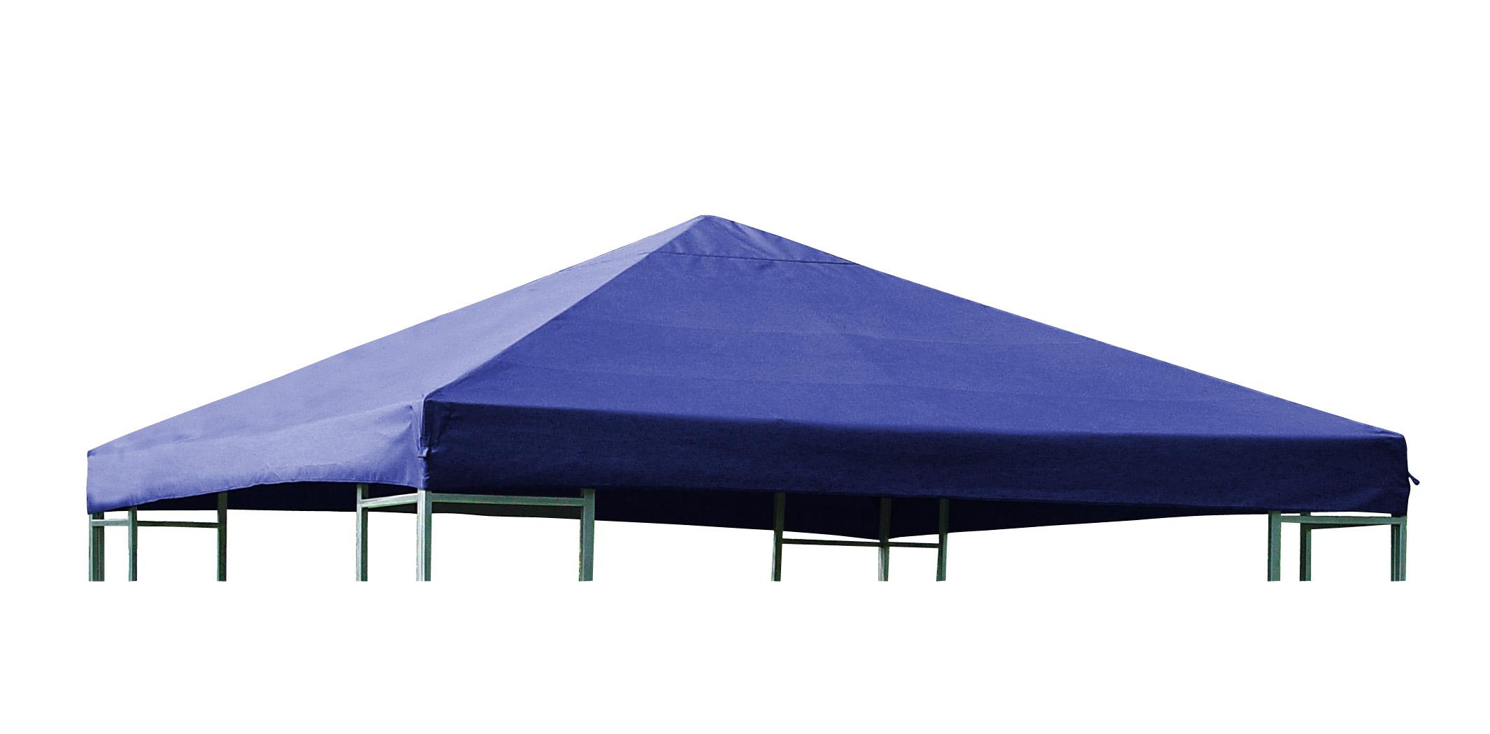 ersatzdach pavillonplane ersatzplane pavillon pavillondach 3x3m wasserdicht blau ebay. Black Bedroom Furniture Sets. Home Design Ideas