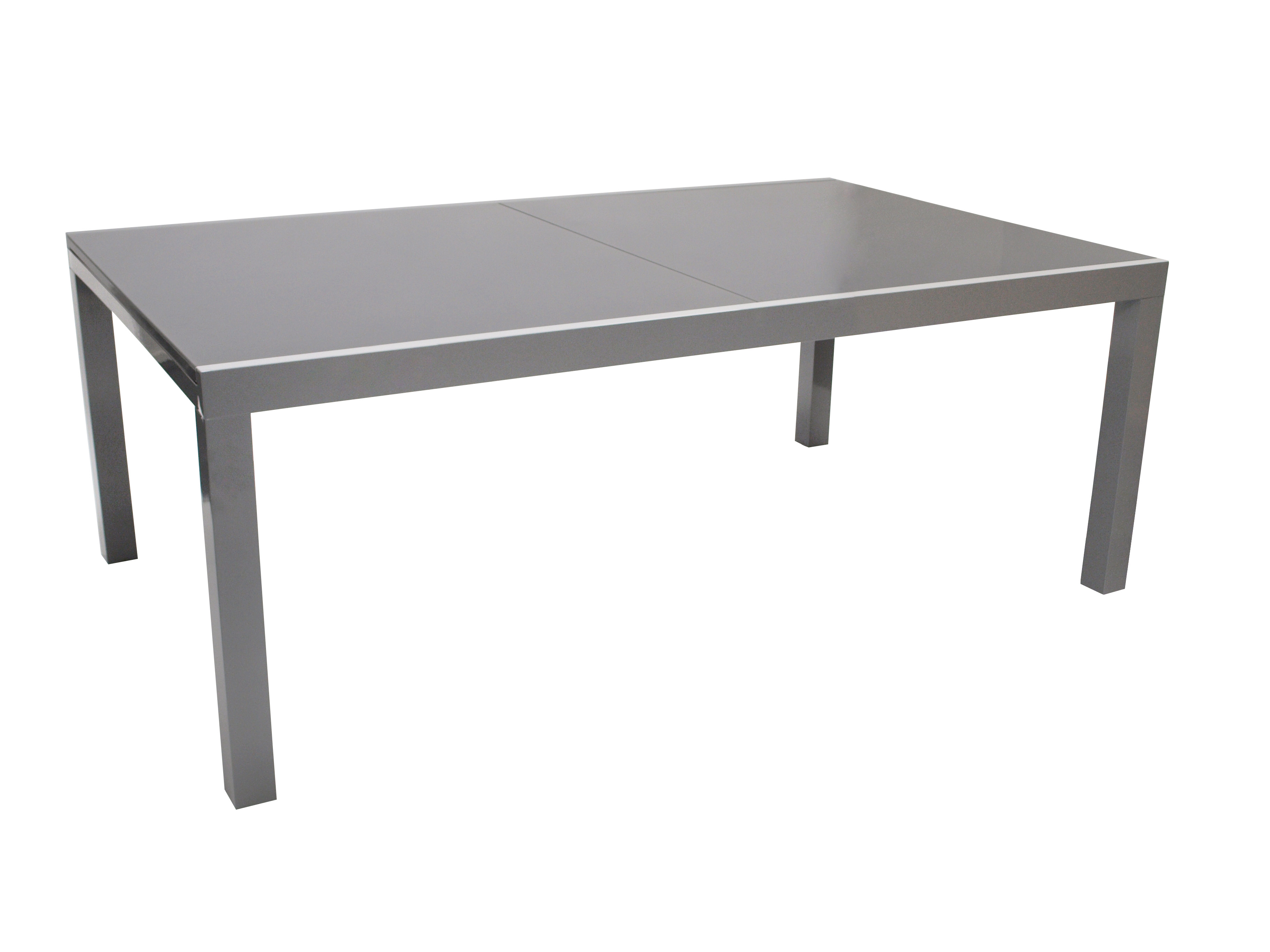 Gartentisch ausziehtisch gartenm bel tisch glastisch marina alu glas 300x110cm ebay - Gartentisch alu glas ...