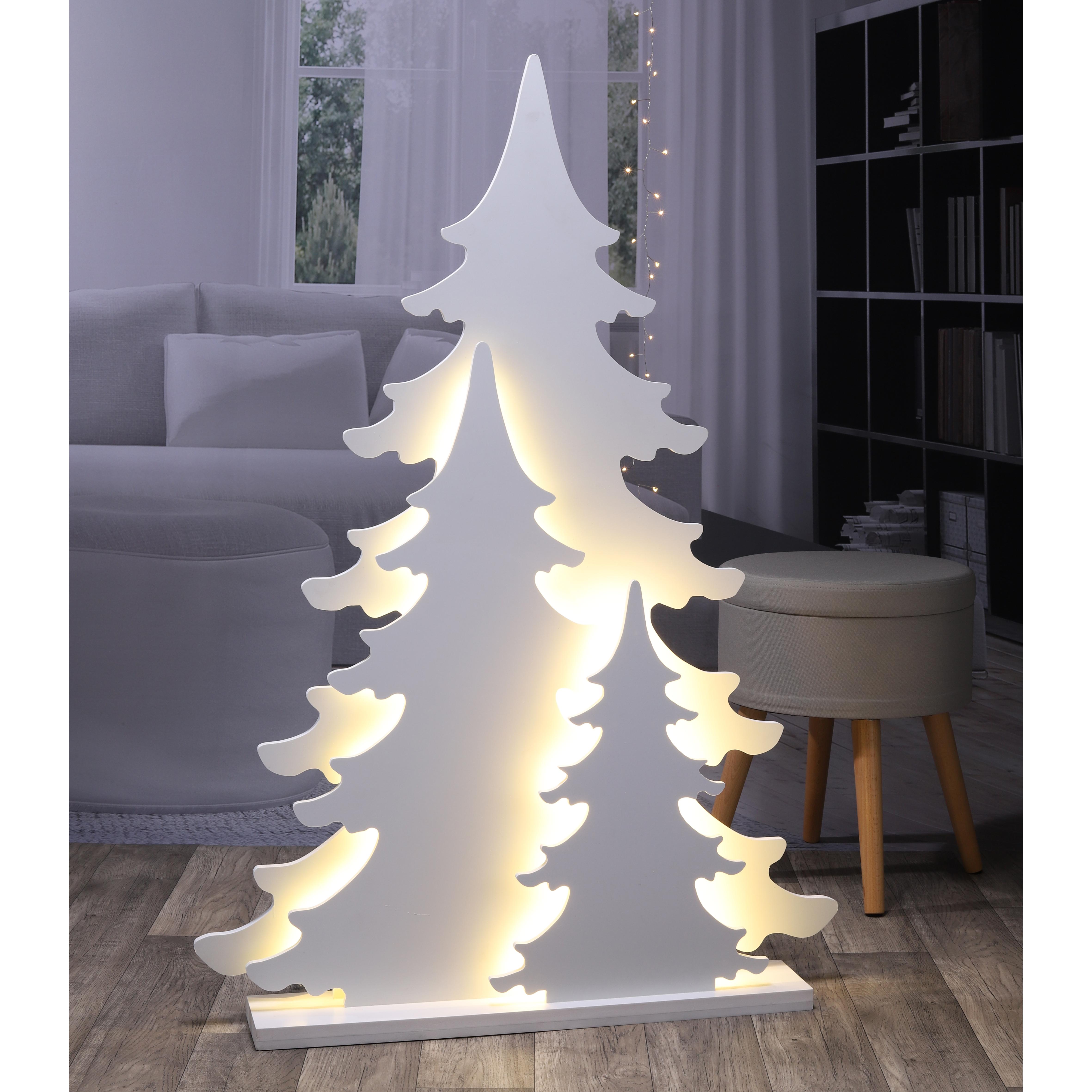 weihnachtsbaum weihnacahtsdeko silhouette tannen110cm aus. Black Bedroom Furniture Sets. Home Design Ideas