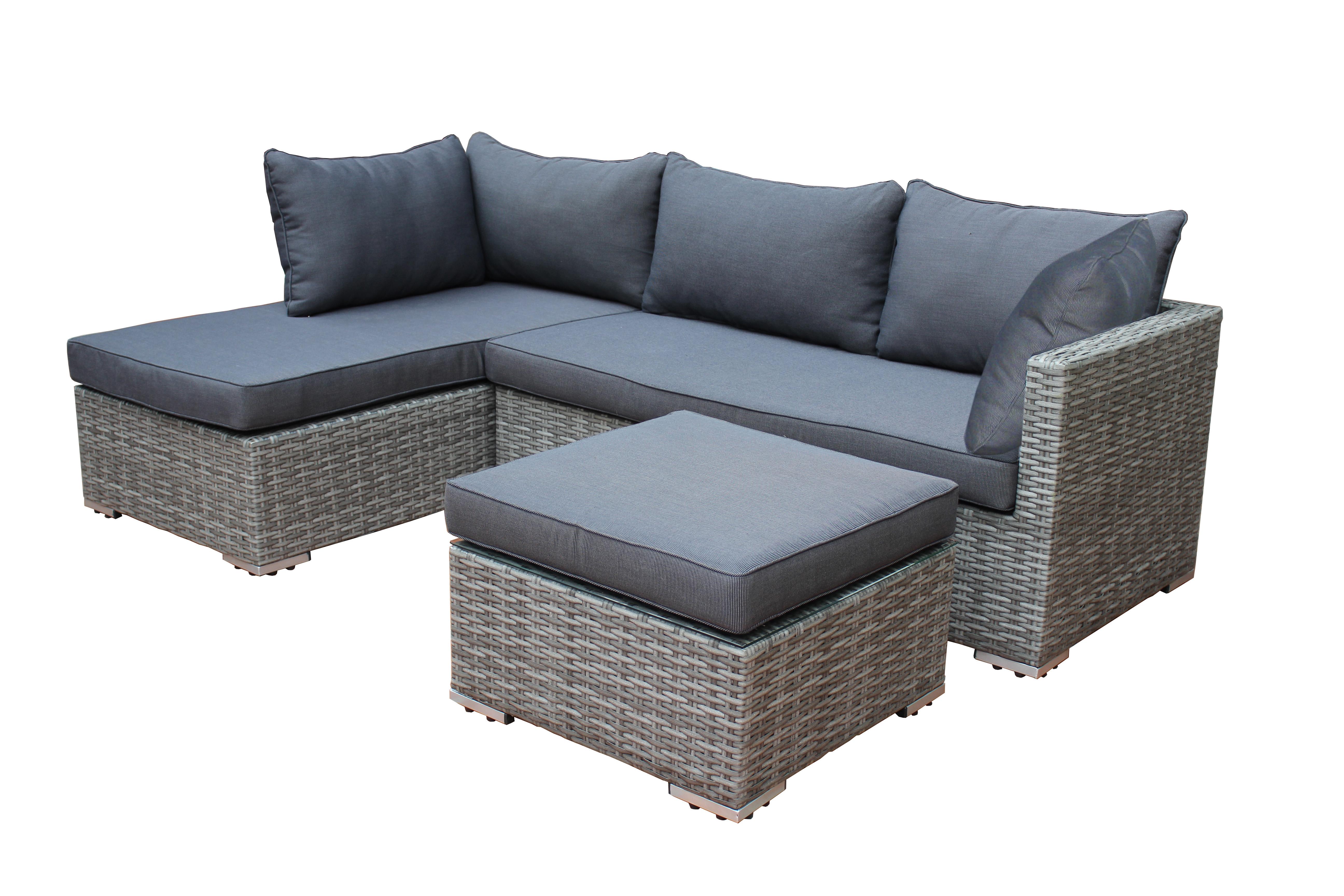 loungeset lounge gartengarnitur gartenm bel sitzgruppe. Black Bedroom Furniture Sets. Home Design Ideas