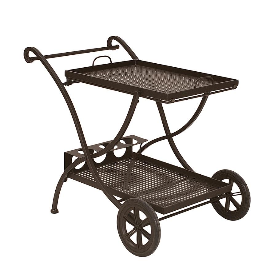 Servierwagen Barwagen Gartenmöbel Teewagen ROMEO von MBM Metall ...