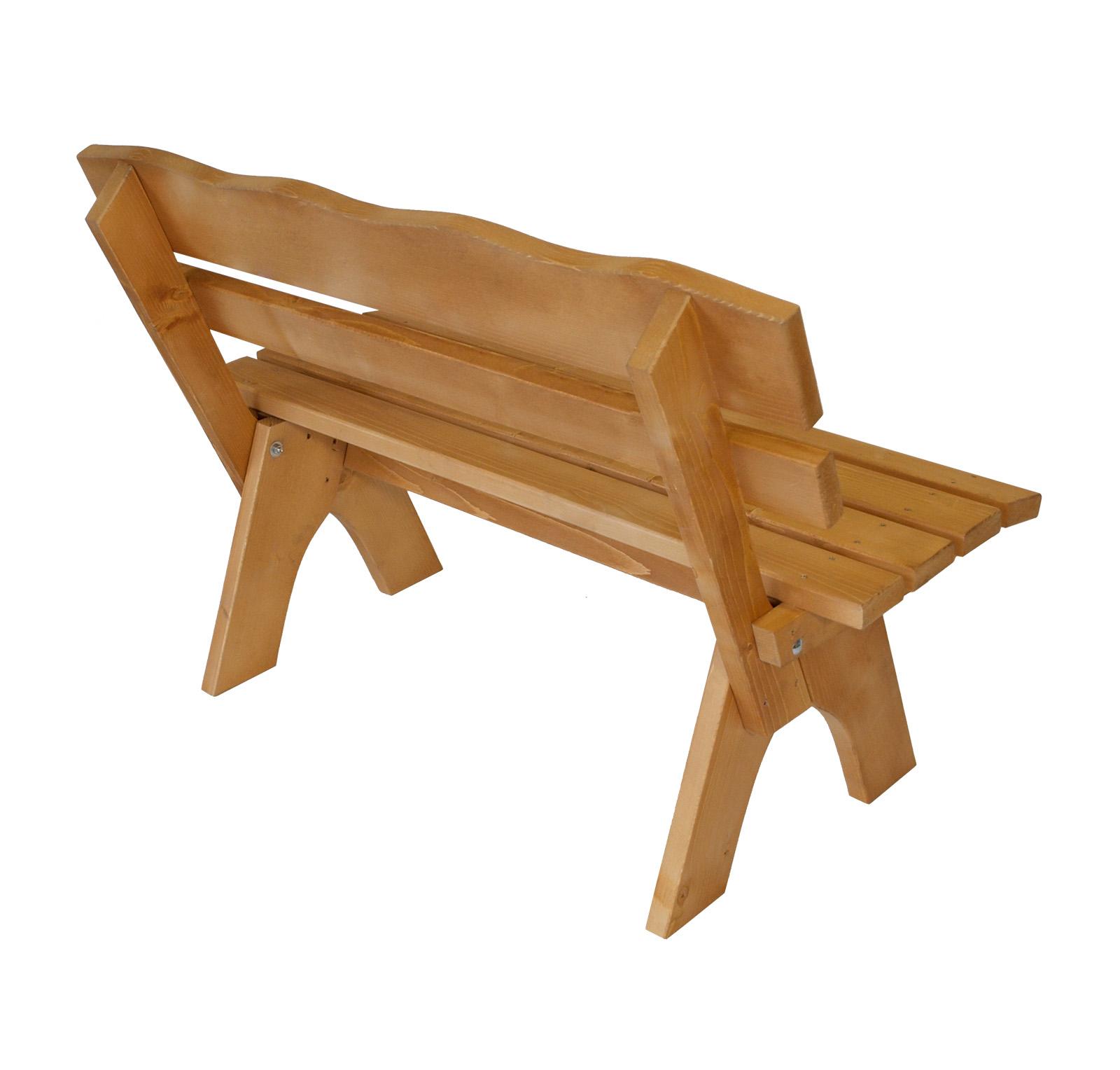 gartenbank holzbank parkbank gartenm bel holz bank freital 2 sitzer kiefer ebay. Black Bedroom Furniture Sets. Home Design Ideas