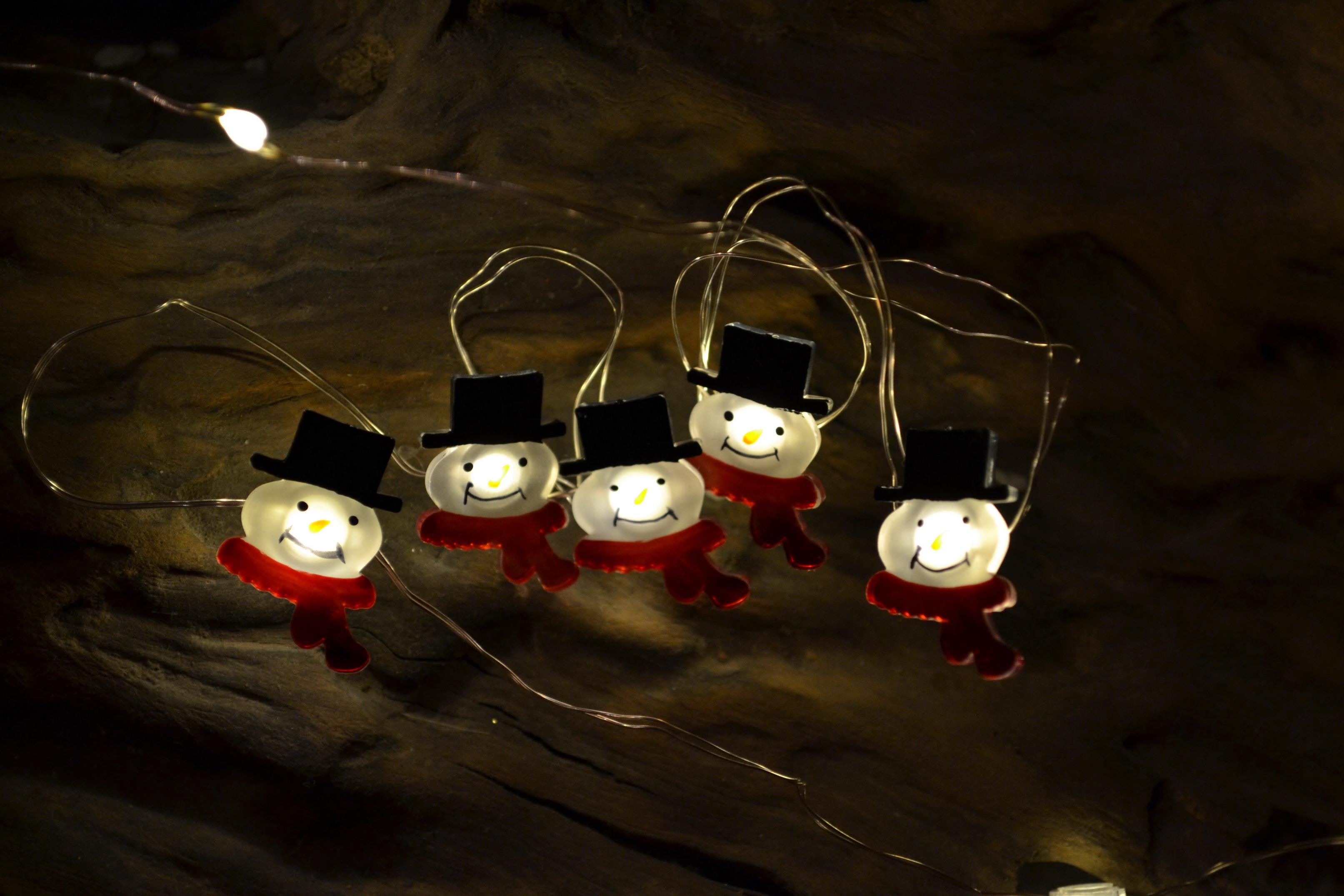 led lichterkette schneemann schneemannlichterkette weihnachtsdeko 190cm innen ebay. Black Bedroom Furniture Sets. Home Design Ideas