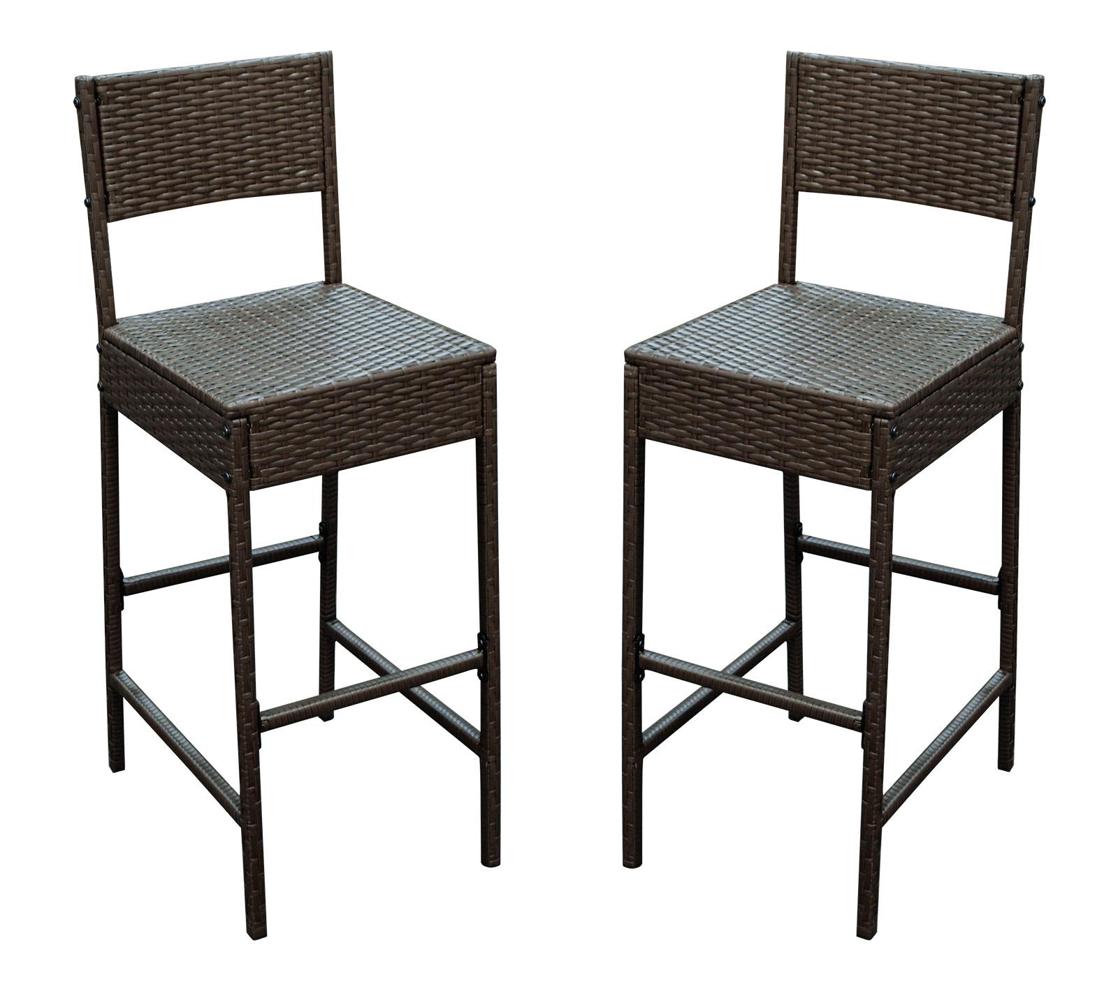 barset 7 teilig bartisch stehtisch barhocker barstuhl set cortina rattan braun ebay. Black Bedroom Furniture Sets. Home Design Ideas